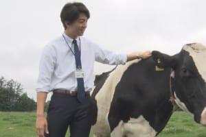 伊藤健太郎、牛と初共演の感想は?ほっこりするインタビュー