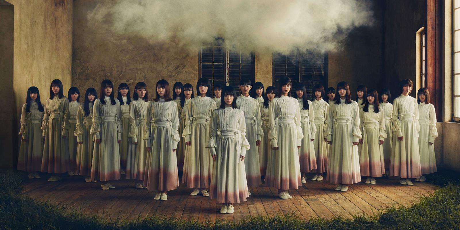 櫻坂46、改名後初のアーティスト写真公開<1stシングル「Nobody's fault」>
